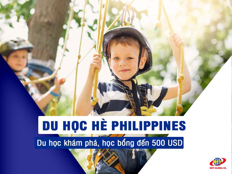 Du học hè Philippines: Du học và khám phá, học bổng đến 500 USD