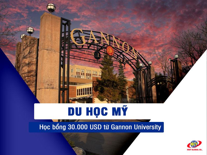 Du học Mỹ: Học bổng lên đến 30.000 USD từ Gannon University
