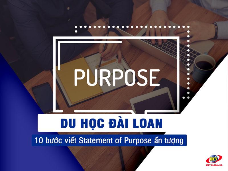 Du học Đài Loan: 10 bước viết Statement of Purpose (SOP) ấn tượng