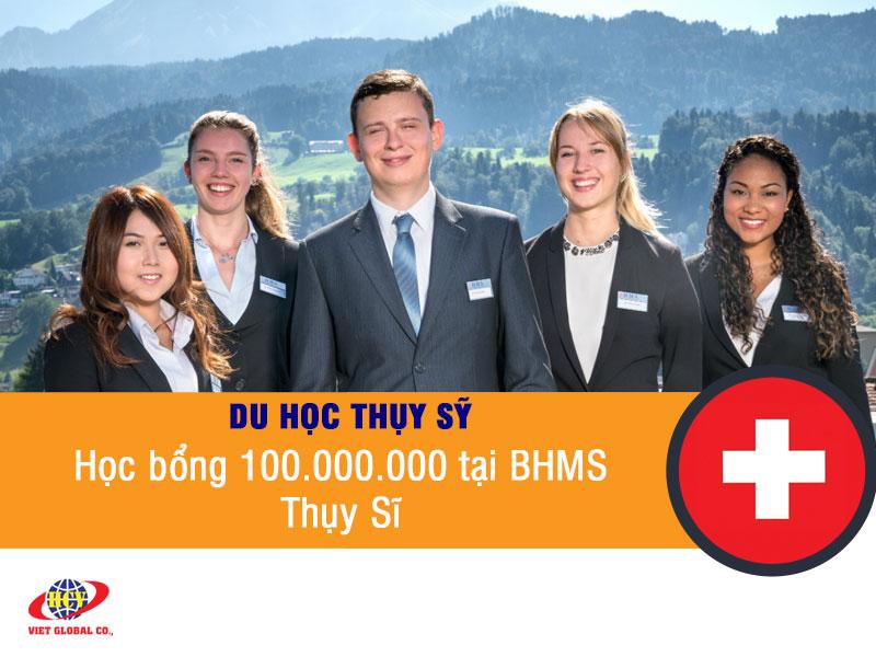 Du học Thụy Sĩ: Ngành Khách sạn – Học bổng 100 triệu tại BHMS