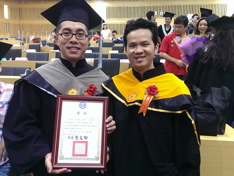 Thạc sĩ Đài Loan