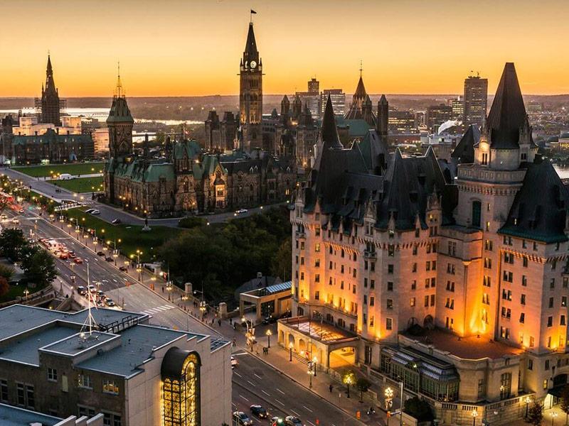 Ottawa - Top 10 thành phố Canada