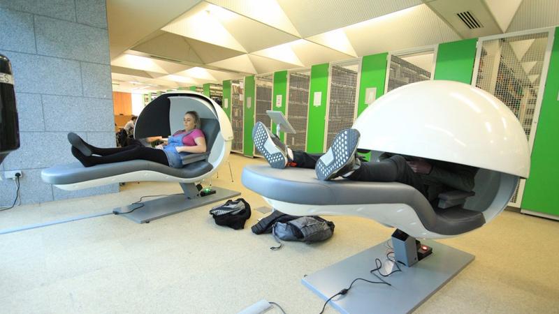 Sleeping Pods - Hộp ngủ trong thư viện Maynooth University