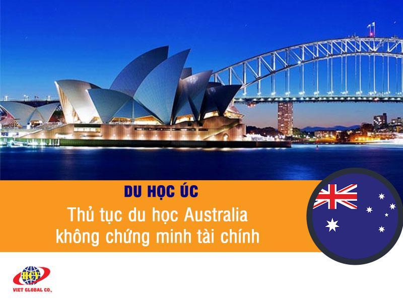 Du học Úc miễn chứng minh tài chính