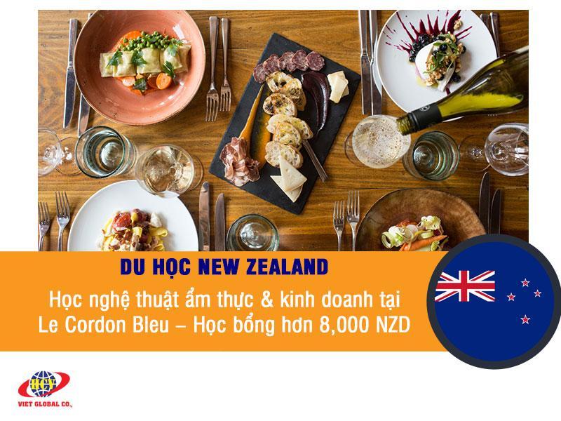 Du học New Zealand: Học nghệ thuật ẩm thực & kinh doanh tại Le Cordon Bleu – Học bổng hơn 8,000 NZD