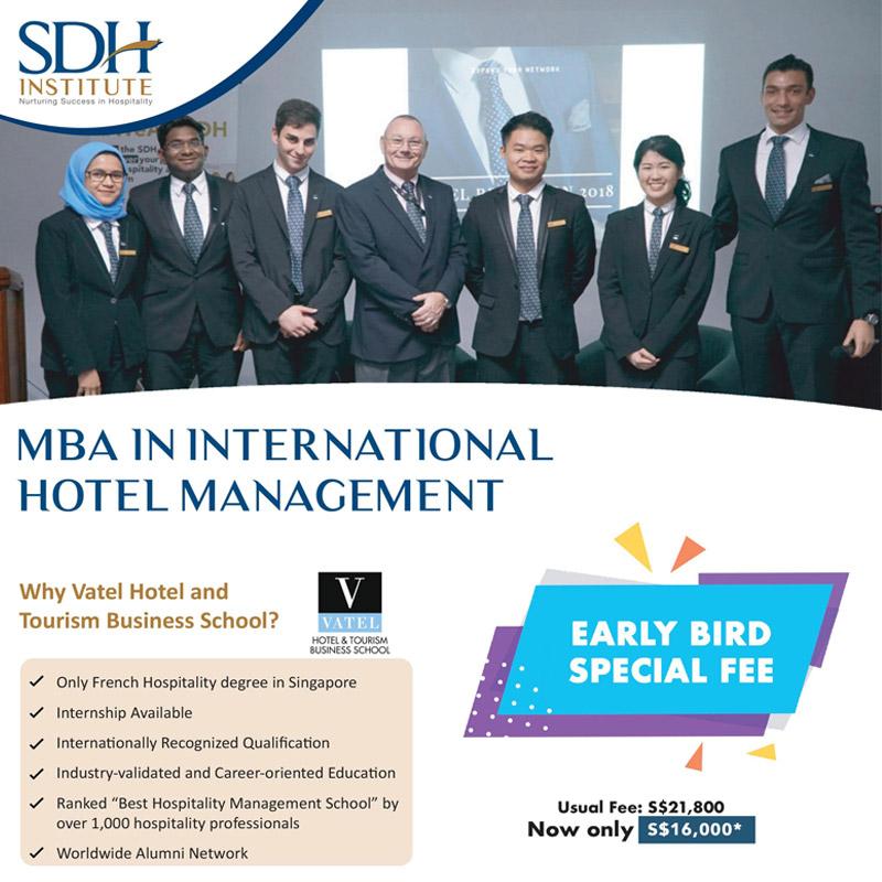 Học bổng SDH - MBA quản trị khách sạn